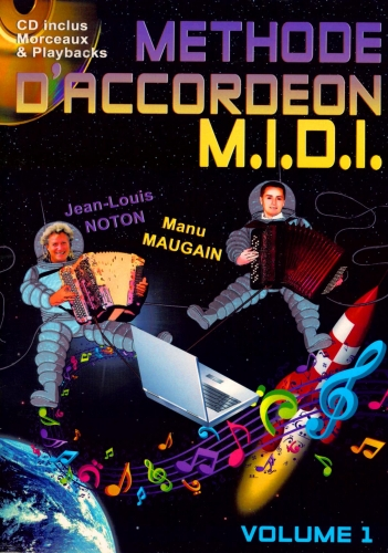 Método de acordeón-MIDI Vol 1