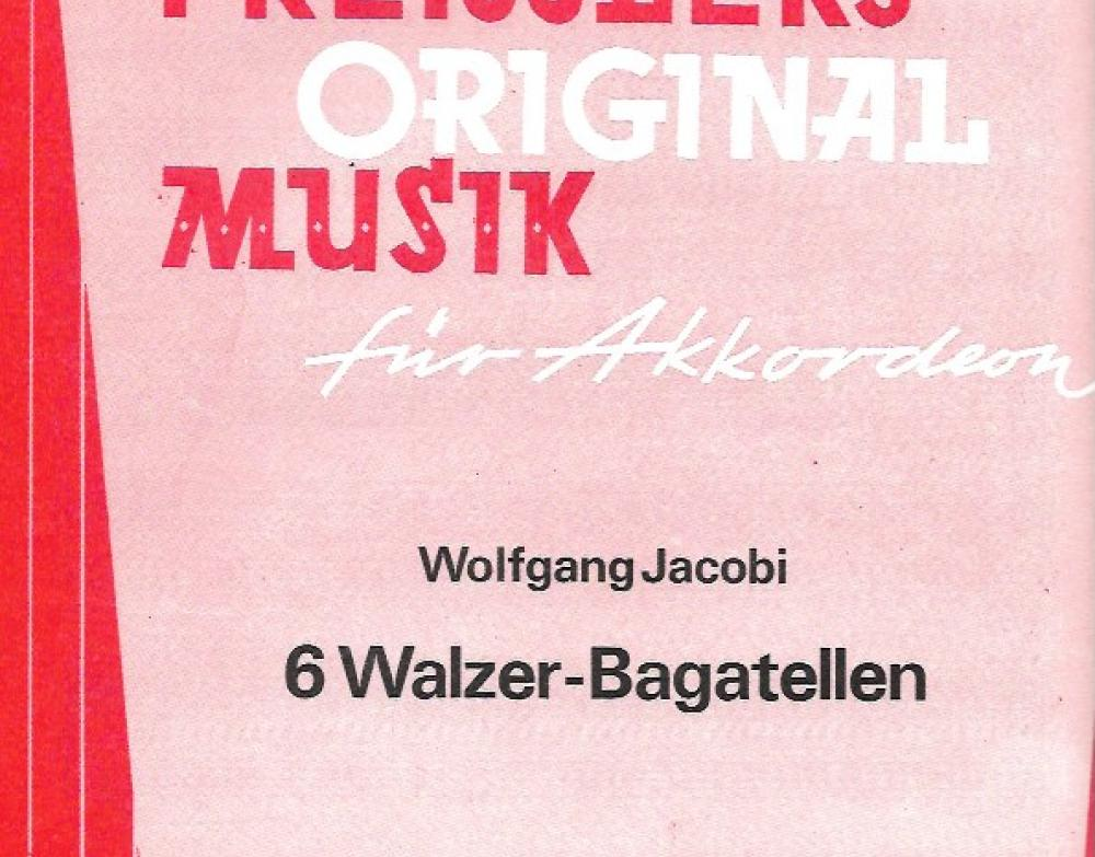 6 Walzer-Bagatellen