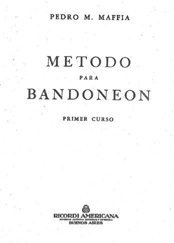 Método para Bandoneón