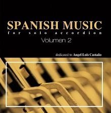 Spanish music for solo accordion Vol- 2