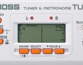 BOOS TU-80 Tuner & Metronome