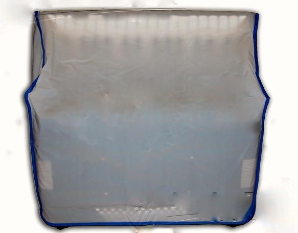 Cubierta de plástico
