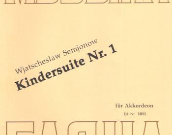 Kindersuite nº 1
