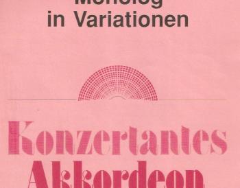 Monolog in Variationen