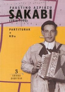 Faustino Azpiazu SAKABI + CD